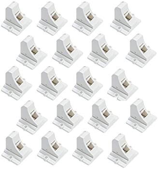 20 Pack Magnetic Cabinet Locks Baby Proofing - Vmaisi Children Proof Cupboard Drawers Latches - Adhesive Easy Install...