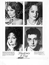 MOVIE PHOTO: SHADOWS & FOG-1991-MIA FARROW-JODIE FOSTER-B&W-8x10STIL FN