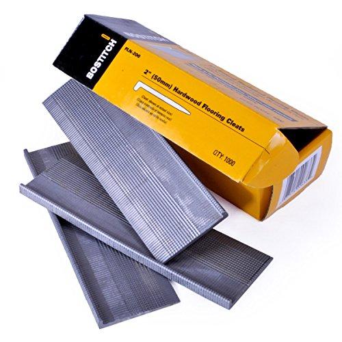 BOSTITCH Flooring Nails, L-Nail, 2-Inch, 1000-Pack (FLN-200)