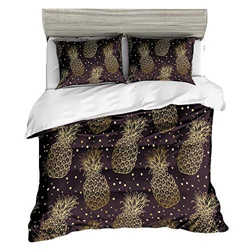 Image of Golden Pineapple Comforter...: Bestviewsreviews