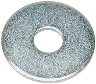 7//16 x 1-1//4 OD Hot Dip Galvanized Finish Low Carbon Steel Large OD Flat Washers 50 pk.