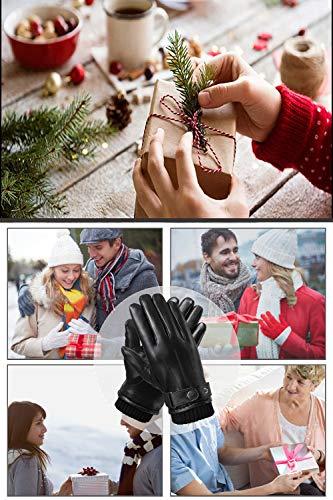 Flyhawk Winter Leather Gloves for Men 3
