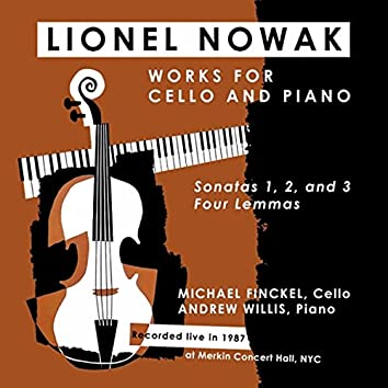 Lionel Nowak: Works for Cello and Piano