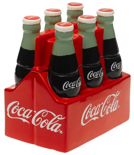 Gibson Coke 6 Pack Cookie Jar
