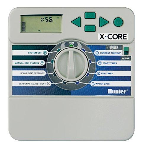 Programmeur de l'eau Hunter X-Core. Xc-401 I-E Intérieur 4 Saisons