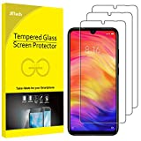 JETech Screen Protector for Xiaomi Redmi Note 8, Note 7 and