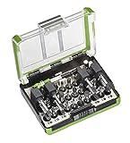 kwb 165510 Extreme Force Bit-Box – 28-tlg. inkl. schlagfeste Bits, Bit-Halter und 1/4 Zoll Steckschlüssel-Adapter