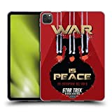Head Case Designs Oficial Star Trek ISS Enterprise NCC-1701-D Salpicaduras Espejo Universo TNG Carcasa de Gel de Silicona Compatible con Apple iPad Pro 11 (2020)