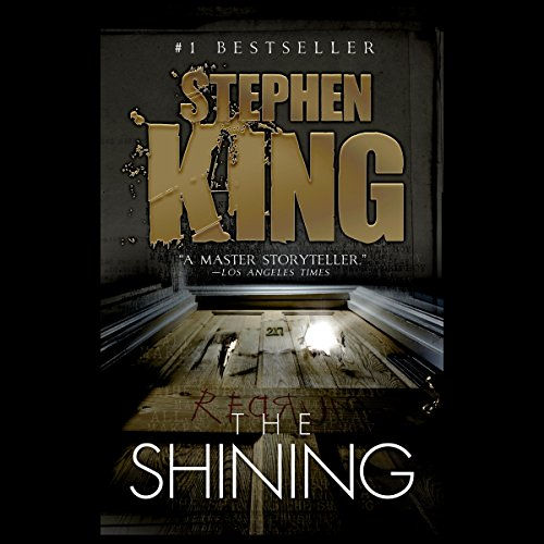 The Shining audiobook cover art
