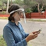 KMINA PRO - Pantalla Protección Facial Transparente (Pack x10 uds), Visera Protección Facial, Protec... #5