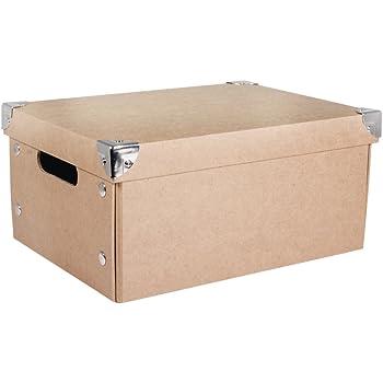 Compactor Set 2 Cajas DE Carton, Naranja: Amazon.es: Hogar