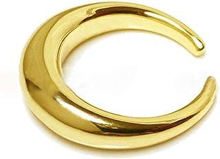 j S925 Sterling Silber Ring Geometrischer Kreis Gebogen Ringe Öffnen Ringe Natürlicher Kreativ Handgemachter Einzigartiger...