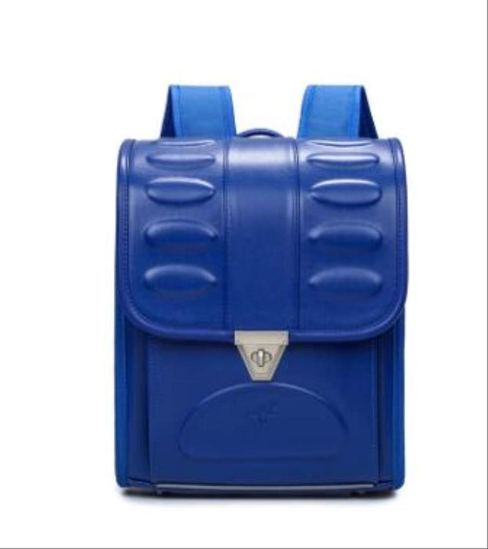 QAZZ Sac à Dos à roulettes orthopédique pour Enfant Bleu