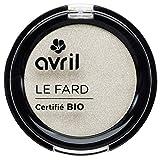 Avril - Sombra de ojos con certificado ecológico, color marfil nacarado, 2,5g