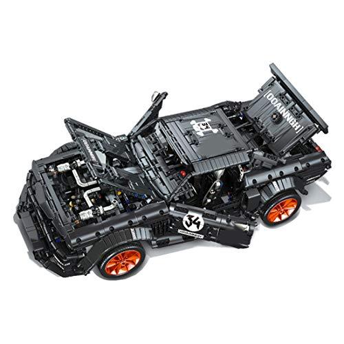Tosbess Technic Auto Sportiva Ford Mustang, 3168 Pezzi Blocchetti di Costruzione Compatibile con Lego Technic