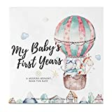 Baby First 5 Years Memory Book Journal - 90 Pages Hardcover First Year Keepsake Milestone Newborn Journal for Boys,...