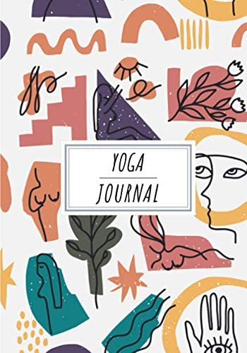 Yoga Journal Keep Track and Reviews Of Your Yoga Activity Record Date Intention Group Coach product image