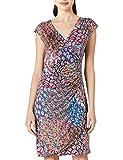 Morgan Robe en Maille imprimée RPAON Casual Dress, Multico, T40 Womens