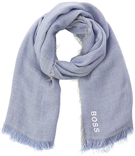 BOSS Damen Nalu2 Schal, Violett (Dark Purple 507), One Size (Herstellergröße: ONESI)
