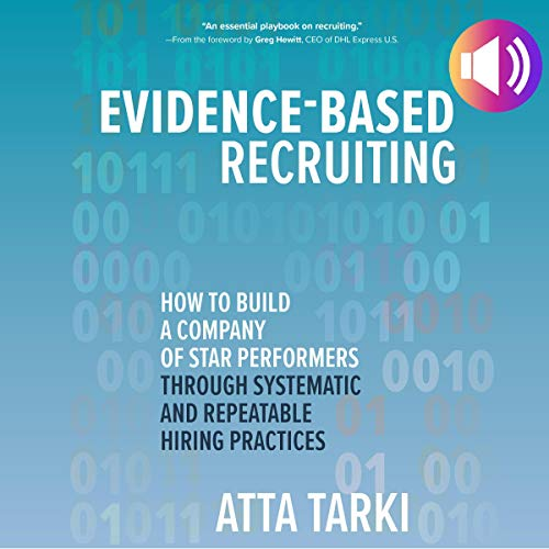Evidence-Based Recruiting audiobook cover art