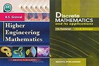 Higher engineering mathematics with Discrete mathematics with 2 vol combo set: Vol. 2