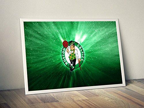 Boston Celtics Limited Poster Artwork - Professional Wall Art Merchandise (More (11x14)