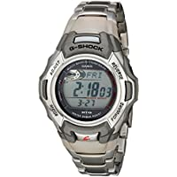 Casio Men's G-Shock Tough Solar Atomic Stainless Steel Sport Watch