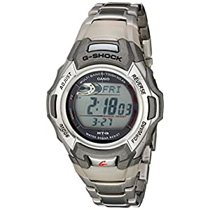 Casio watches Casio Men's G-Shock MTGM900DA-8CR Tough Solar Atomic Stainless Steel Sport Watch