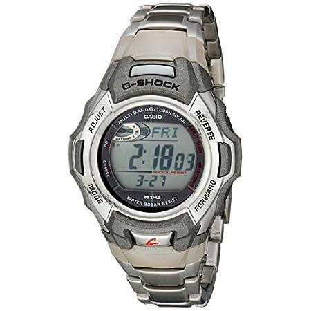 Casio watches Casio Men's G-Shock MTGM900DA-8CR Tough Solar Atomic Stainless Steel Sport Watch