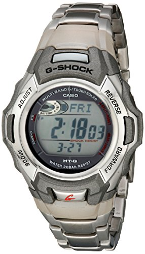Casio Men's G-Shock MTGM900DA-8CR Tough Solar Atomic Stainless Steel Sport Watch