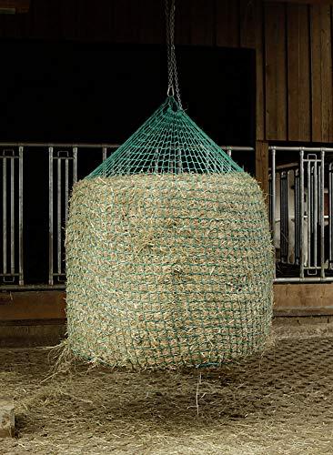 Kerbl Heunetz für Rundballen zum Aufhängen, 150x180 cm, Maschenweite 4,5 cm, 321606