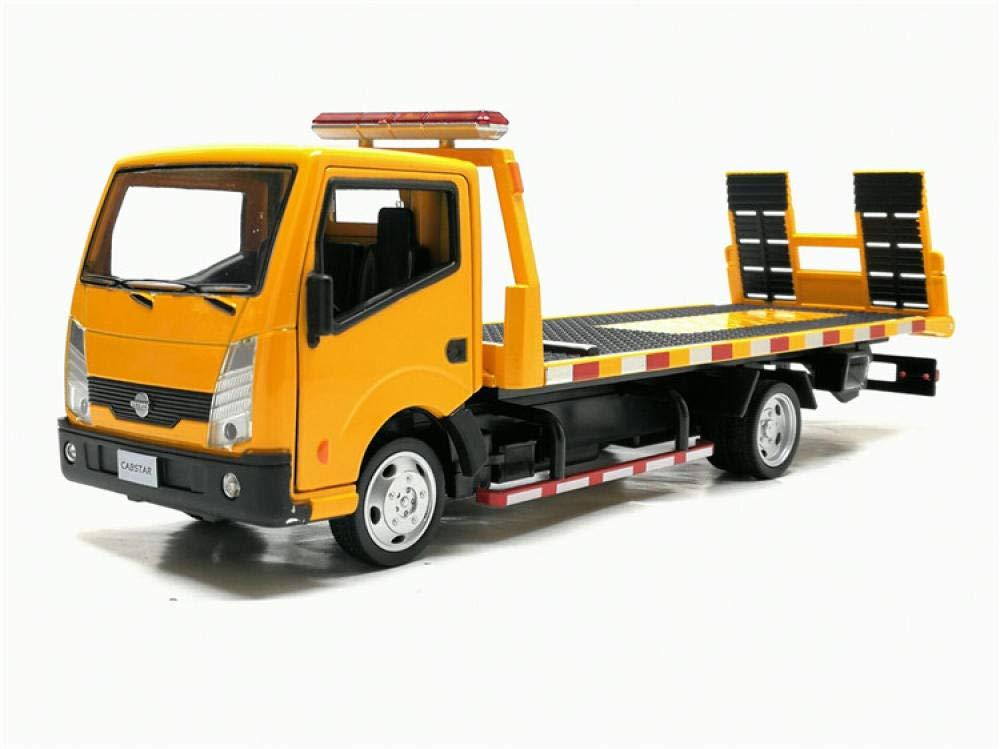 doudouTU 1:32 Remolque A Escala Coche Camión Tractores De Juguete Modelo Plataforma Remolque De Aleación Niños Juguetes con Nueva Caja, Transportador De Automóviles De Juguete: Amazon.es: Hogar
