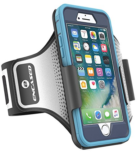 Encased Workout Armband for Otterbox Defender Series - iPhone 7 Plus (5.5'), Sweat-Resistant Band (case is not Included)