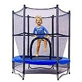 Jumptastic Trampolin für Kinder, 140 cm, Mini-Trampolin mit Netz, W-förmiger Stahlrahmen für...