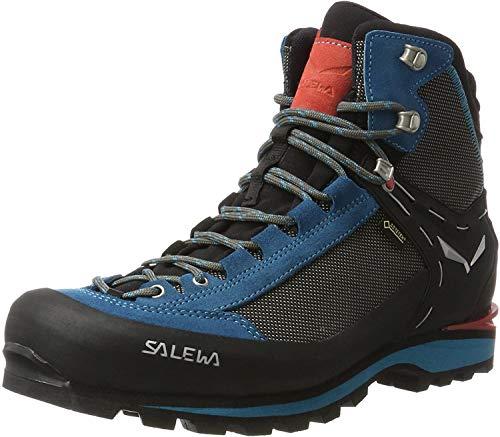 Salewa Ws Crow Gtx, Botas de Montaña Mujer, Negro/Azul (Black/Hot Coral 0938), 38