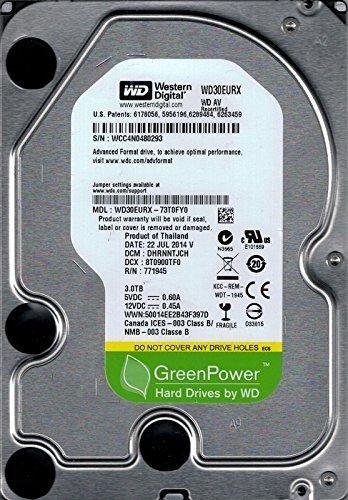 wd30eurx-73t0fy0DCM: dhrnntjch wcc4N Western Digital 3TB