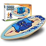 WALIKI Wood Balance Board | Ages 3-8 | Toddlers and Kids