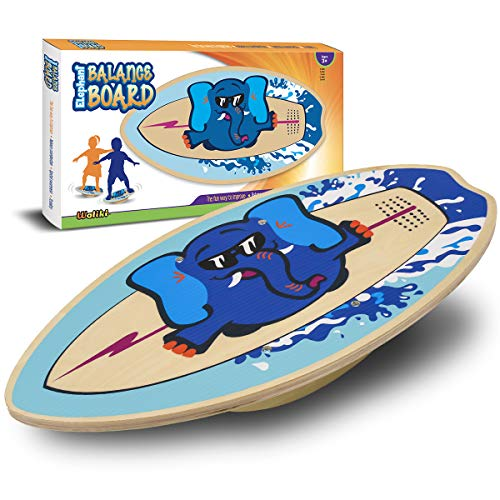 Cheap WALIKI Wood Balance Board   Ages 3-8   Toddlers and Kids