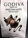 Godiva Belgium Masterpieces Dark Chocolate Ganache Heart 14.6 Oz