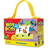 Educational Insights Hot Dots Jr. The Alphabet Flash Card Set, Homeschool Learning Workbooks, 72 Preschool & Kindergarten Readiness Activities, Ages 3+