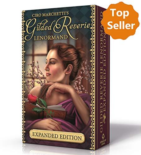 Gilded Reverie Lenormand: Mit 8 Zusatzkarten und Booklet: Mit Zusatzkarten und Booklet