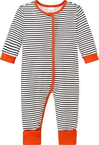 Schiesser Unisex Baby Anzug Vario Fuß Kleinkind-Schlafanzüge, Weiss, 56