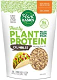 Plant Basics - Hearty Plant Protein - Unflavored Crumbles, 1 lb (Pack of 6), Made from Peas, Non-GMO, Gluten Free, Low Fat, Low Sodium, Vegan, Meat Substitute
