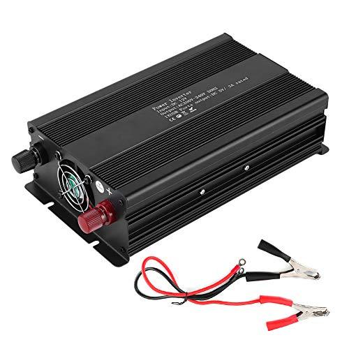 Convertidor de corriente para coche, transformador, inversor, inversor de voltaje de onda sinusoidal pura, 12V a 220V 2000W