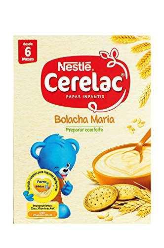 Zubereitung für Milchbrei, Herkunftsland Portugal NESTLÉ, Box 250g - CERELAC Bolacha Maria 250g