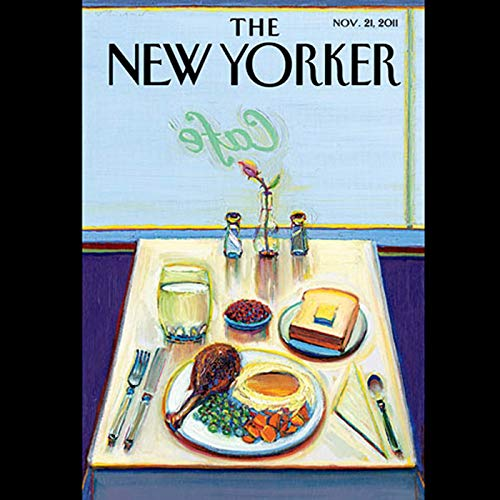 The New Yorker, November 21st 2011 (Nicholas Schmidle, Thomas Mallon, James Surowiecki) audiobook cover art