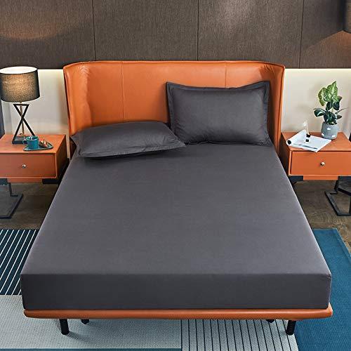 haiba sábana de una sola pieza cubierta protectora de colchón, cubierta de polvo antideslizante, 180cm/220cm+10cm