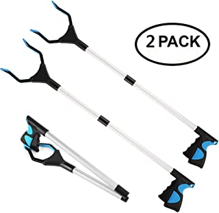 2 Packs - Reacher Grabber Pick Up Tool, 32