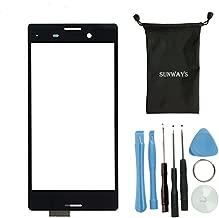 sunways Touch Digitizer Screen Repair Parts for Sony Xperia M4 E2303 E2353 E2333 E2363 E2312 E2306 with Tools