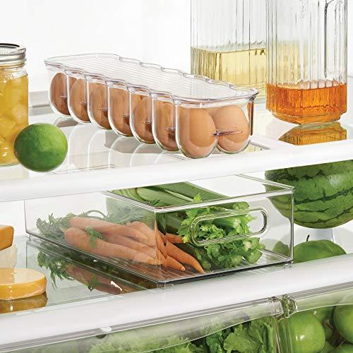 InterDesign冷蔵庫用卵入れエッグ収納ホルダーFridgeBinzクリア70730EJ